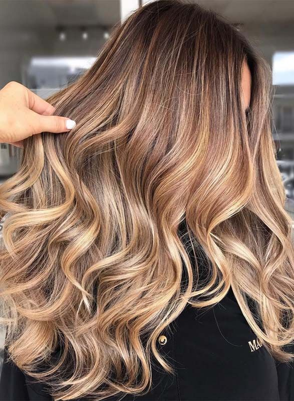 amazing caramel hair color dimensions