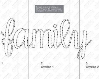 , Mr & Mrs String Art Template, Family Blog 2020, Family Blog 2020