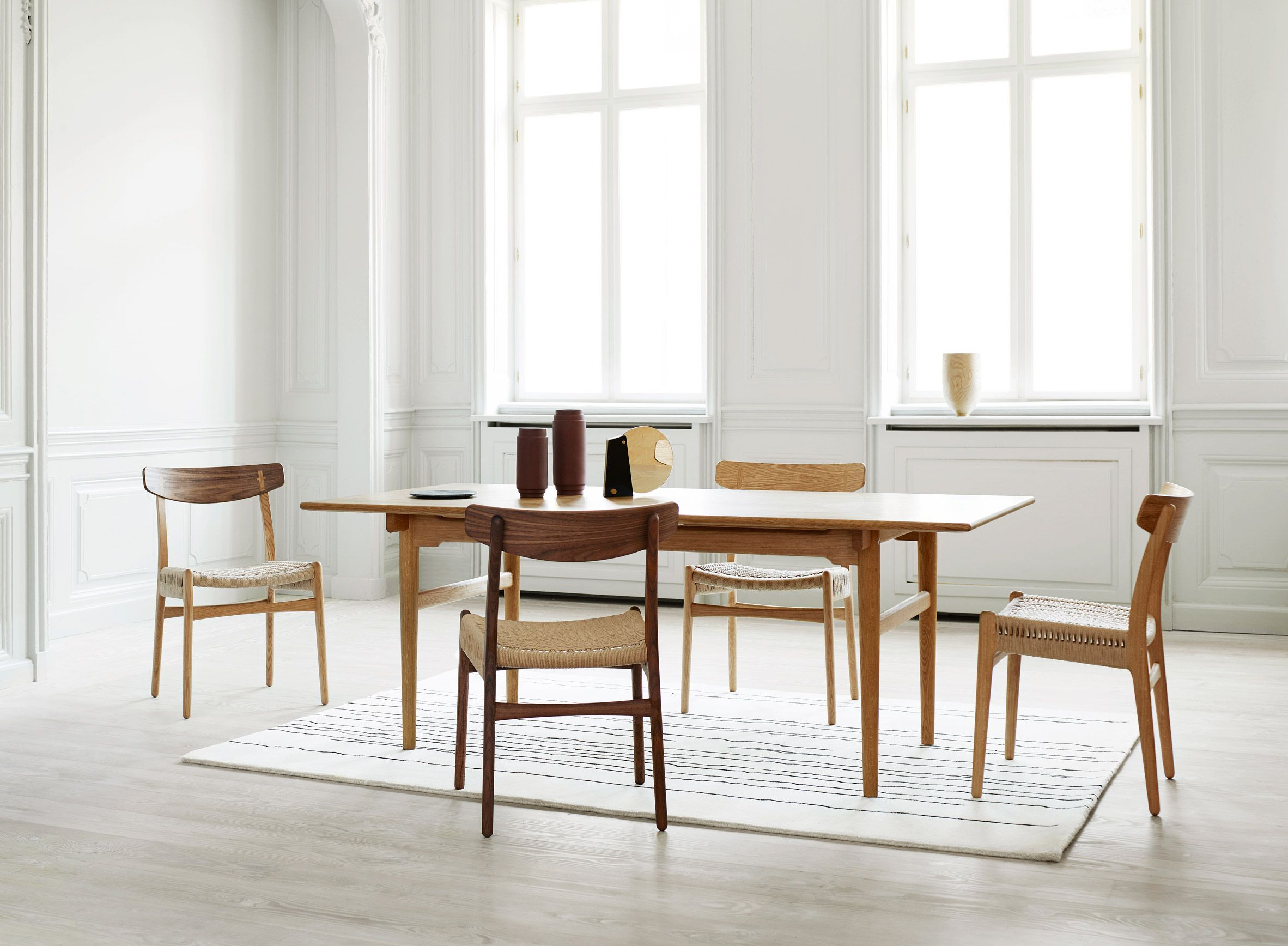 Carl Hansen & Son reissues final chair from original Hans J Wegner