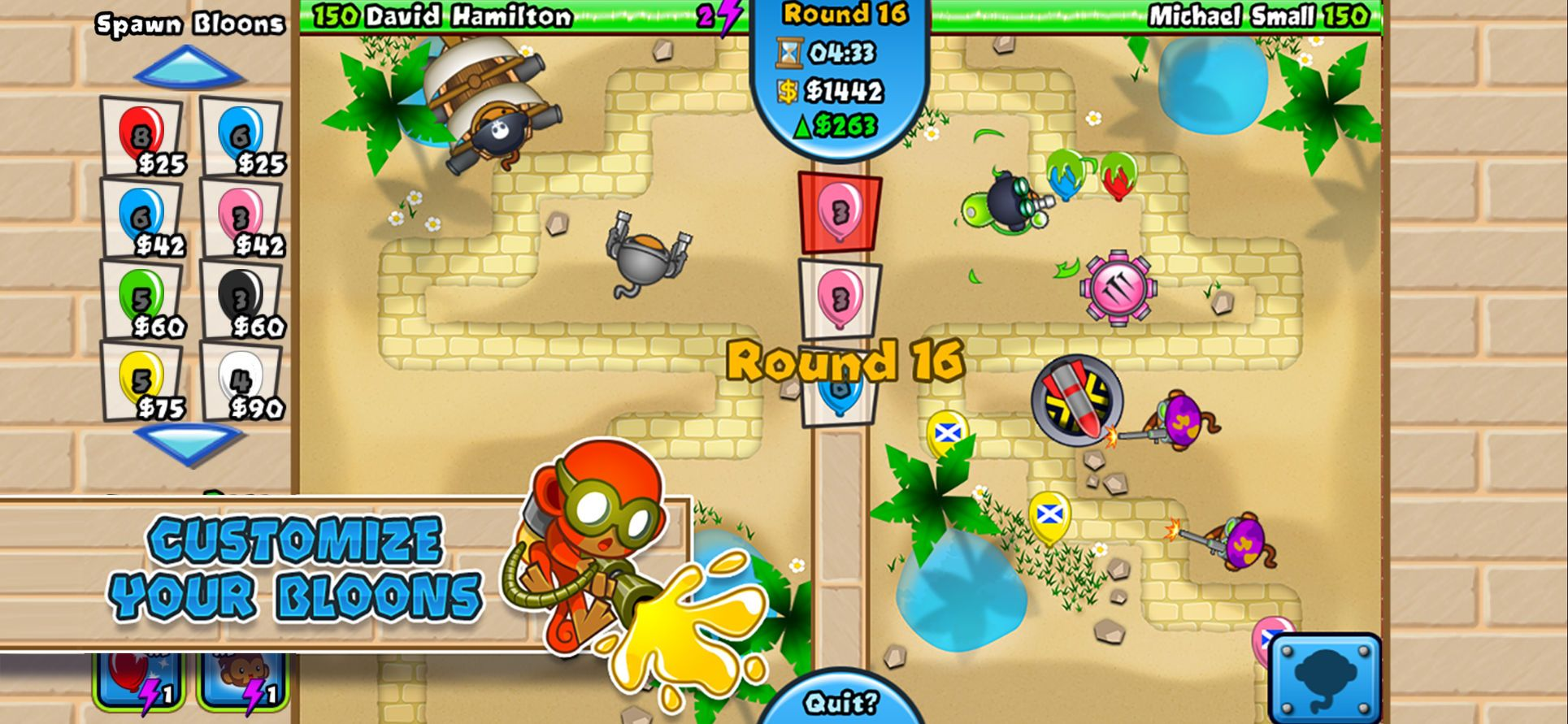 Bloons TD Battles StrategyGamesActionios (With images