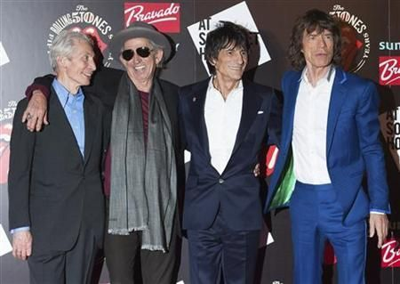 Fans celebrating the Rolling Stones' 50th anniversary get a never-before-seen look at the band on tour in 1965 with a new film revealing the young musicians chased by crazed fans, poking fun at musical rivals and playing raw versions of songs that would become legend.