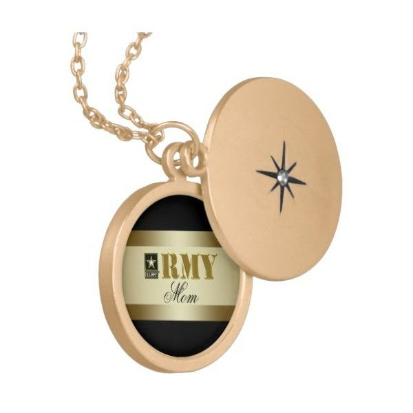 Black and Gold U.S. Army ™ Necklace ($34) ❤ liked on Polyvore featuring jewelry, necklaces, army necklace, army jewelry, black and gold jewelry and black and gold necklace