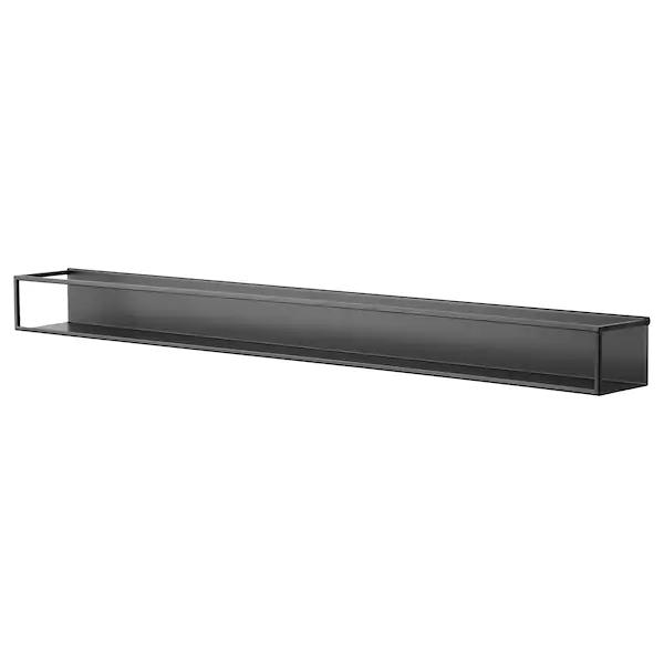 Sammanhang Wall Shelf Black Ikea Wandplank Ikea Zwart