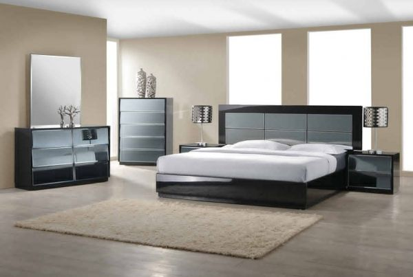 Chintaly Imports Venice 2pc Bedroom Set with King Bed ...