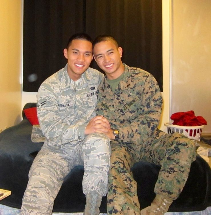 Real gay soldiers