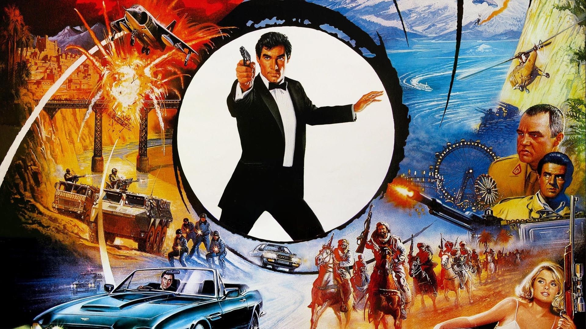 1920x1080 Wallpapers Free The Living Daylights James Bond Movie Posters James Bond Movies Bond Movies