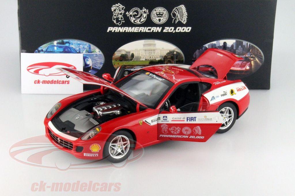 2018 ferrari 599. Perfect Ferrari Ferrari 599 GTB Fiorano Panamerican 20000 Hot Wheels Elite 118 Inside 2018 Ferrari S