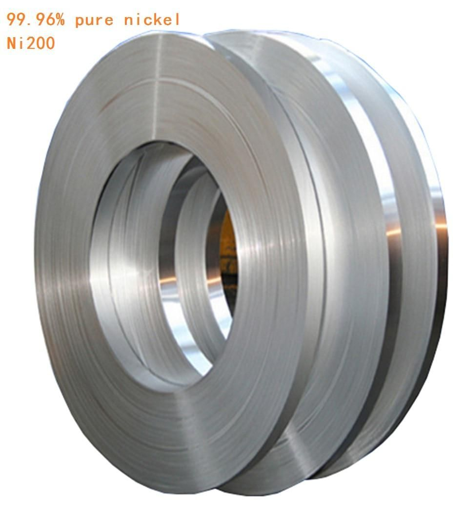 0 5kg 0 15mm 12mm Pure Nickel Plate Strap Strip Sheets 99 96 Pure Nickel For Battery Electrode Electrode Spot Welding Machine Stainless Steel Sheet Pure Products Spot Welding Machine