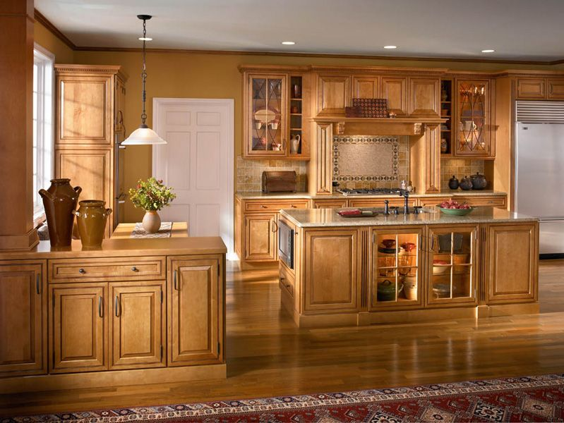 Traditional Kitchens Kraftmaid Kitchen Cabinets Home Remodeling Maple Cabinets