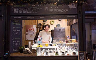 FoodHallen stalls - Amsterdam