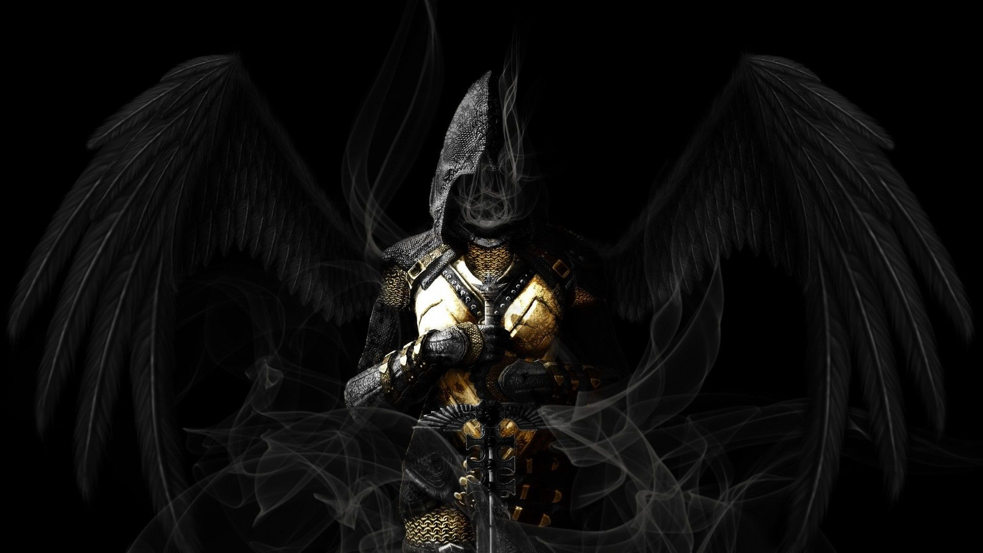 Absolutely Massive Collection Of Character Art Dark Angel Wa
