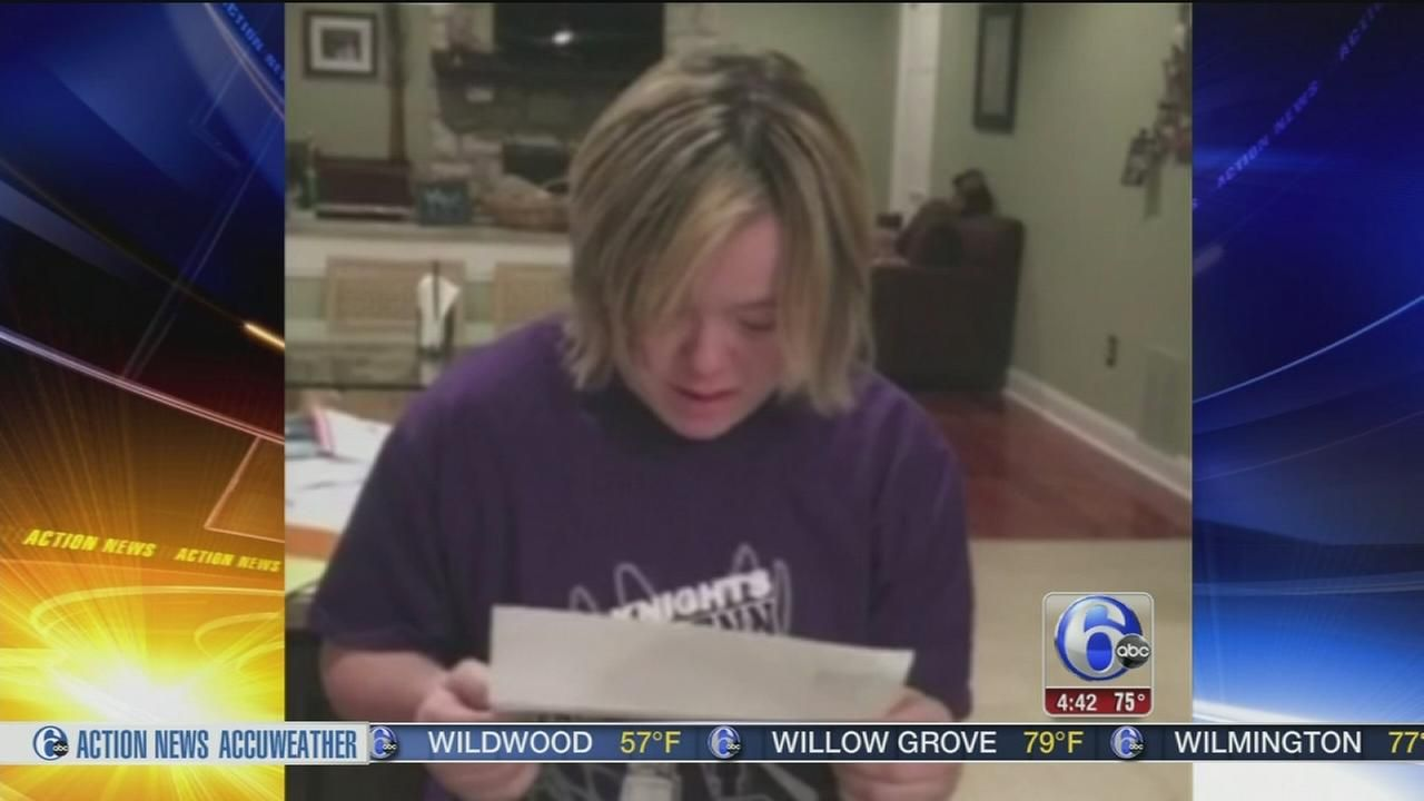 Local Student With Down Syndrome Has Emotional Response To College
