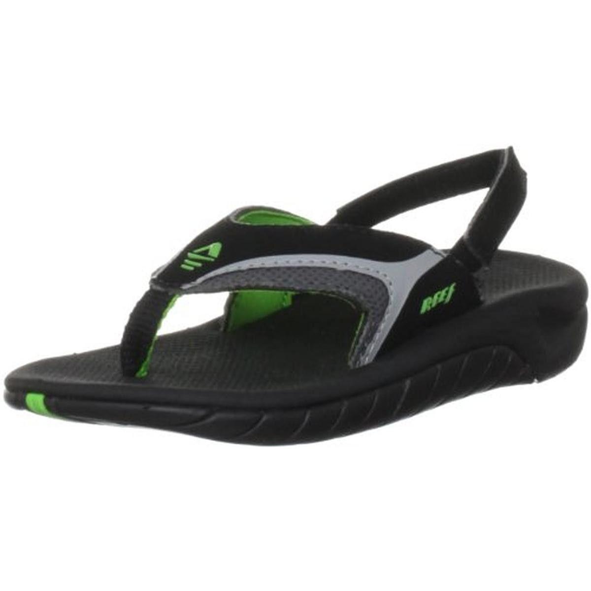 498136ac785b Reef Boys Slap II Slip On Toddler Thong Sandals