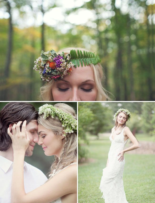 Head Over Heels For Flower Crowns Wedding Floral Crown