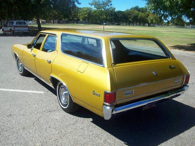 1972 Chevrolet Chevelle Concours Wagon California Station Wagon