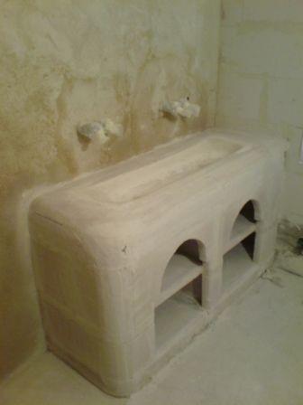 Great Awesome Suprieur Fabriquer Meuble Salle De Bain Beton