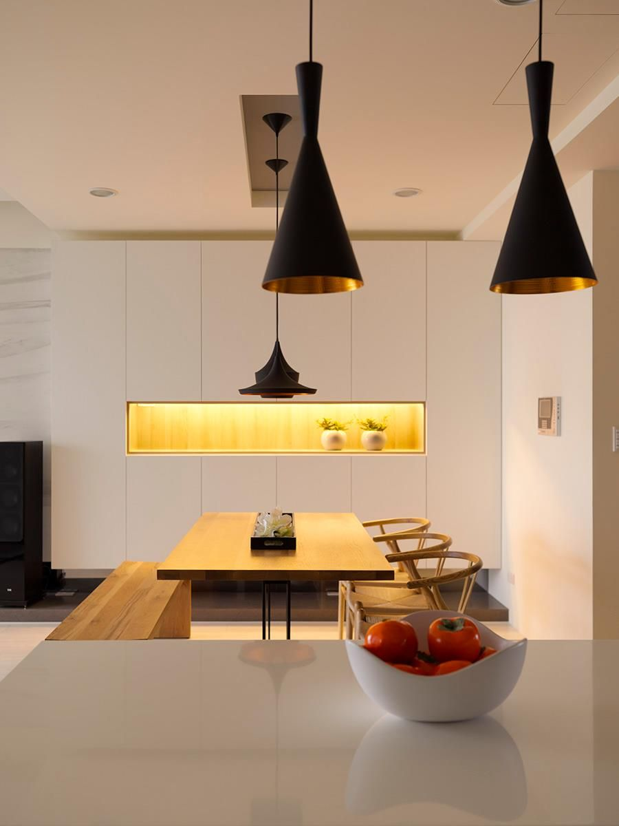 Open Plan Home With Oomph Home Lighting Design Open House Plans Home Interior Design