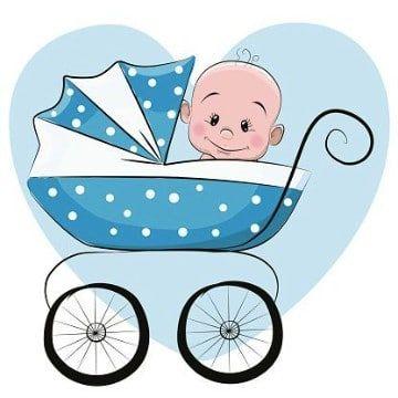 Imagenes Animadas De Bebes Para Baby Shower Bebe Clipart Arte Infantil Caricatura De Bebe