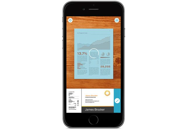 Il Sagit Dune Application IPhone Et IPad Gratuite Qui Vous Permet De Numeriser Des Documents Cartes Visite Jadore Ce Type D