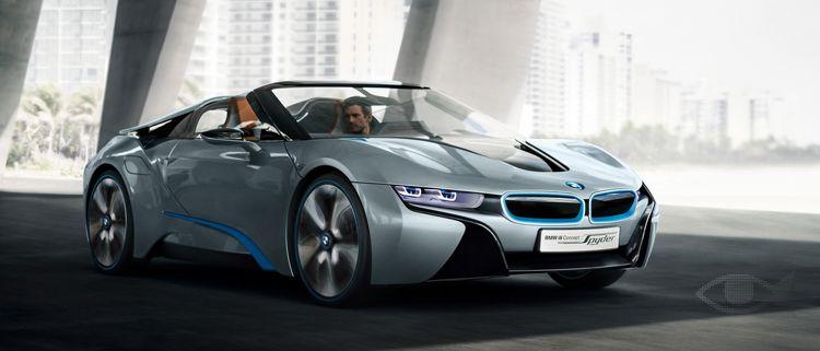 Cosa bonita y bien hecha! #BMW i8 Concept Spyder