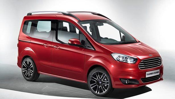 2015 Ford Tourneo Courier Design 2015 Ford Tourneo Courier Is Smaller Van That Is Used For Business Purposes But It Certainly Can Serve Ford Courier Ford Company New Car Picture