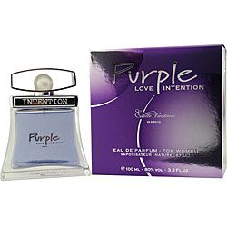 """""""Love Intention Purple"""" - I LOVE THIS PERFUME! Harder to find but smells soooo good!"""