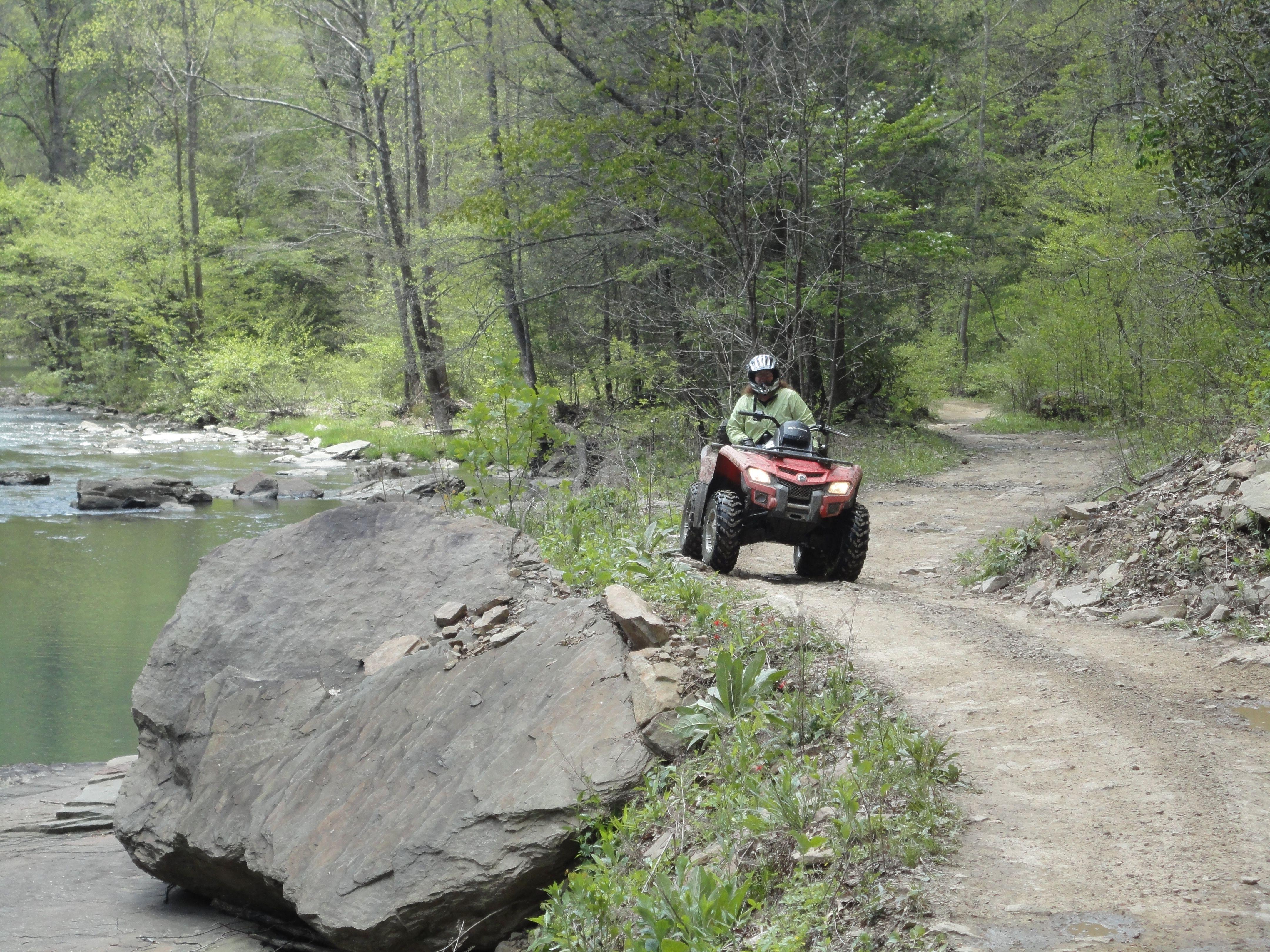 Nita Riding Pinnacle Creek Trail 26 Riding Dirtbikes Trail