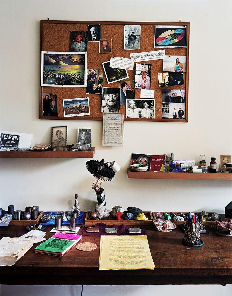 Workspace of Oliver Sacks