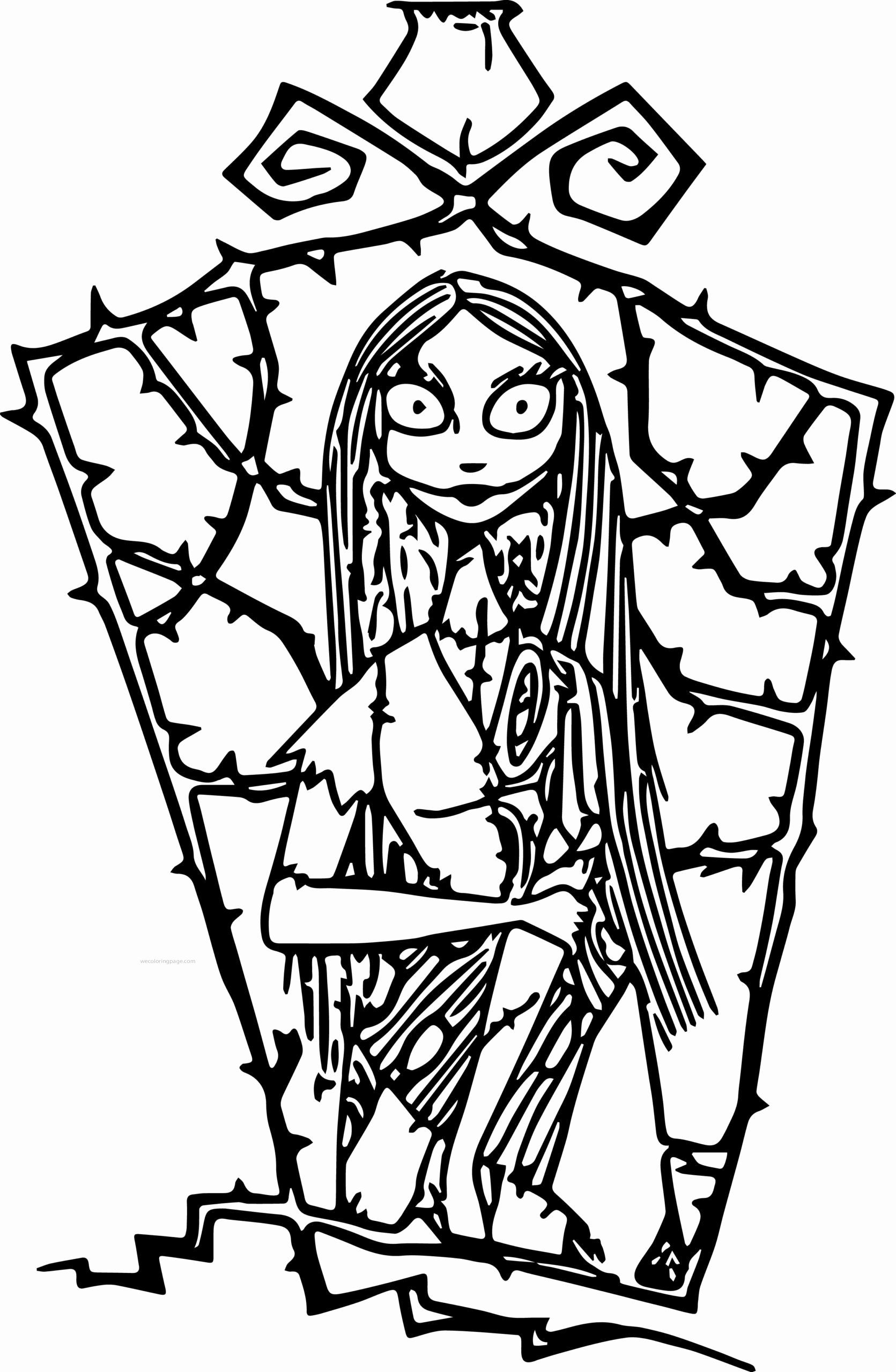 Xmas Coloring Sheets Printable Unique Coloring Pages Coloring Christ Nightmare Before Christmas Drawings Sally Nightmare Before Christmas Animal Coloring Pages