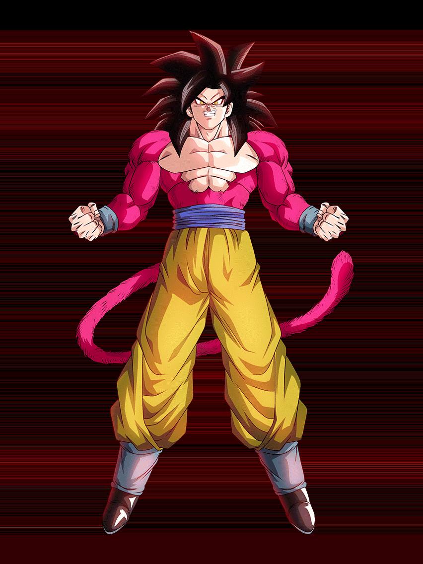 Goku Ssj4 Render 6 By Maxiuchiha22 Desenhos Dragonball Desenho