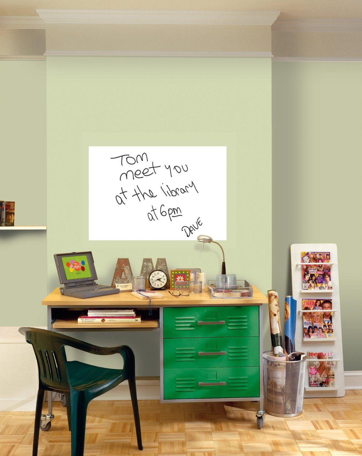 Whiteboard Decals For Walls Desks And Everywhere Dry Erase