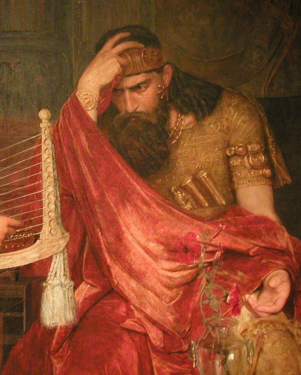 Saul A Good King David And Saul Saul Pre Raphaelite