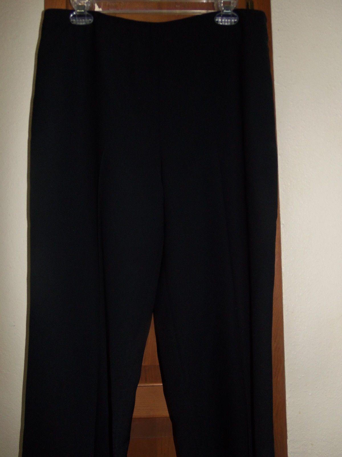 Black dress pants polyester