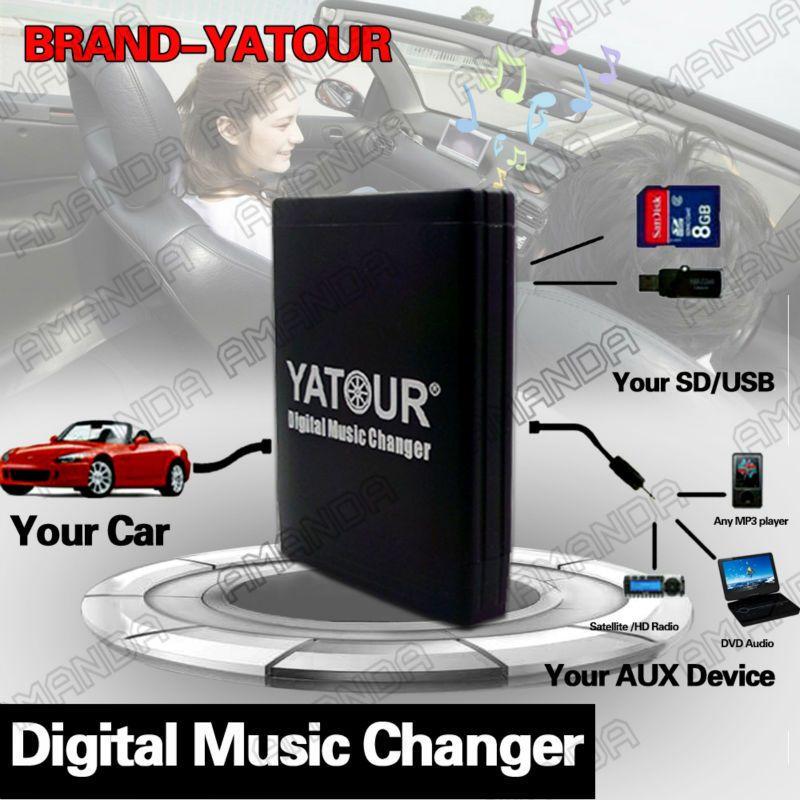 Bluetooth USB mp3 aux Interface cambiador CD adaptador 6+6 para Lexus radio original