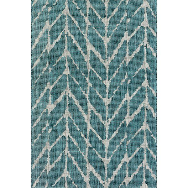 Briaca Teal Indoor Outdoor Area Rug Blue Outdoor Rug Chevron Rugs Outdoor Rugs Patio