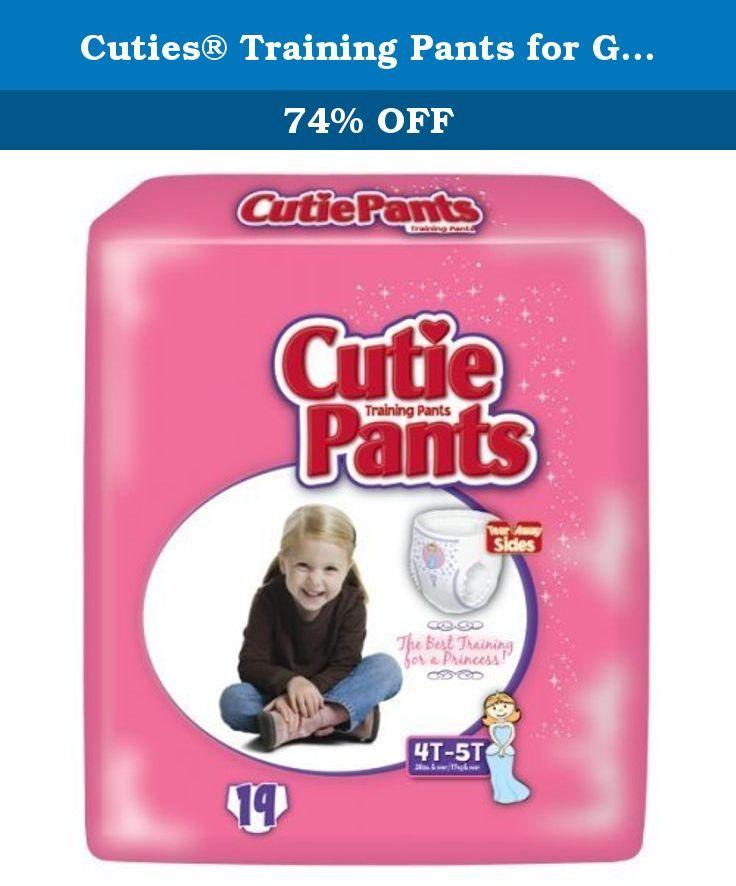 9d053784fc37e Cuties® Training Pants for Girls - Case 76 (4T - 5T - Girls (38+ lbs.)).  Cuties® Training Pants
