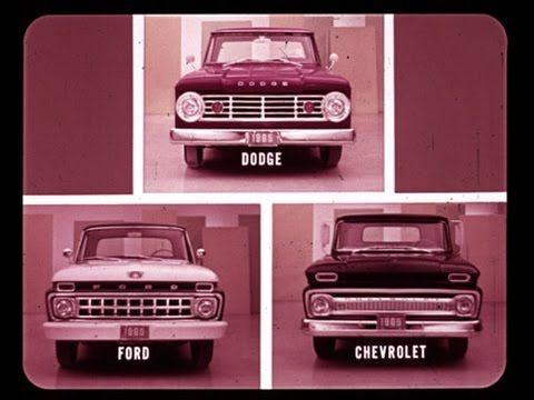 1965 Dodge Trucks Vs Chevrolet Ford Comparison Dealer Promo Film Dodge Trucks Best Luxury Sports Car Chevy