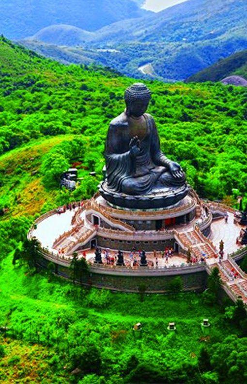Tian Tan Buddha On Lantau Island, Hong Kong   Cool places ...