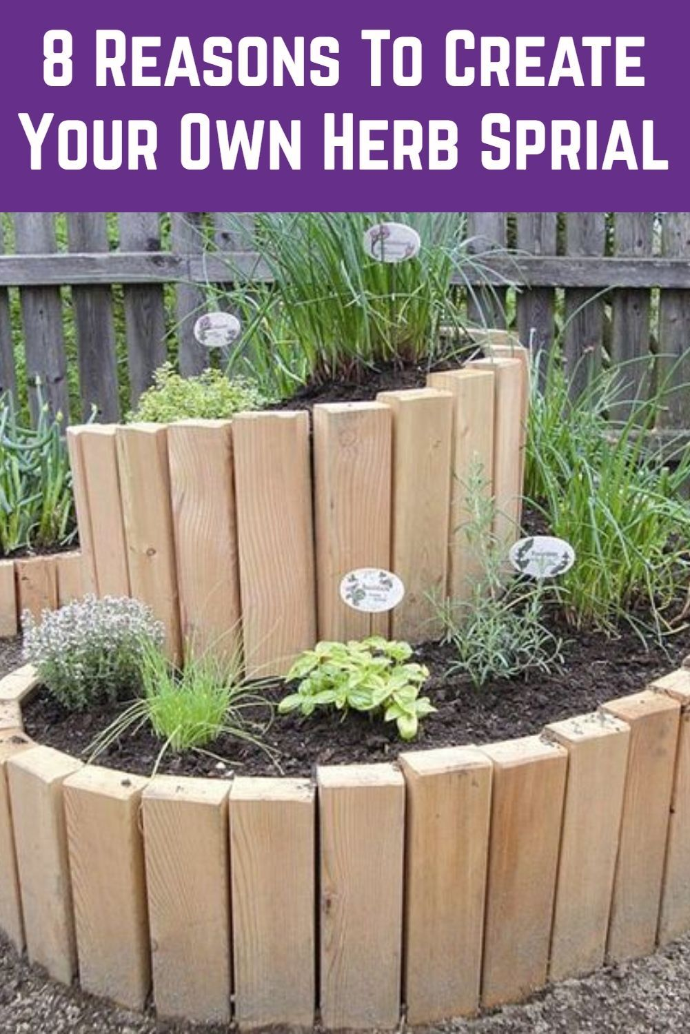 8 Reasons To Create Your Own Herb Spiral + How To Build One is part of Small vegetable gardens, Spiral garden, Vegetable garden raised beds, Front yard garden design, Diy raised garden, Pallets garden - Establishing a backyard herb spiral lets you grow lots of herbs in a concentrated, visually pleasing way  Here are 8 benefits and how to get started