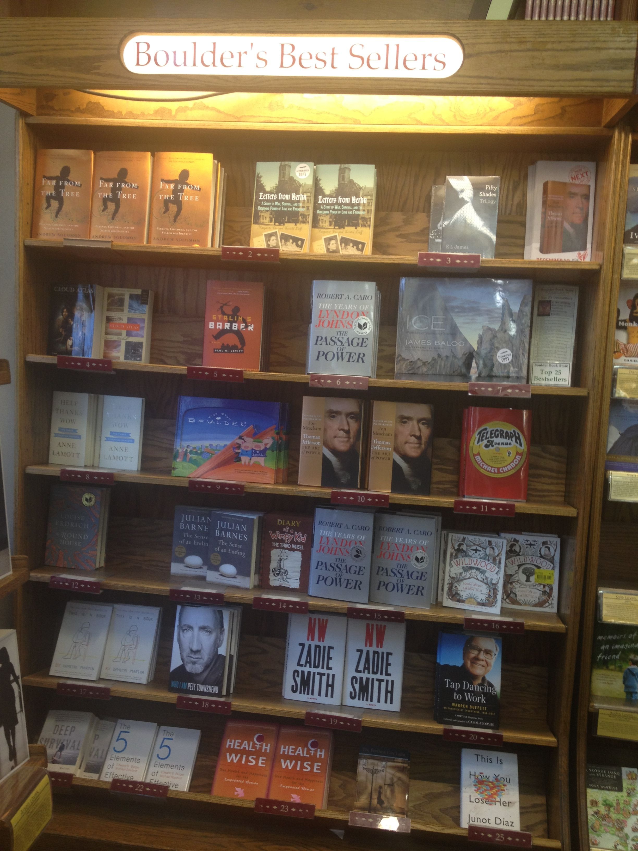 At the Boulder Book Store