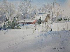 Featured Art - Allendale Farm  by Sandra Strohschein