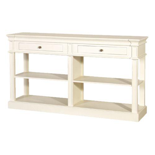 cream console table. CH Furniture Cream Fayence Shelf Buffet £536.00 Console Table