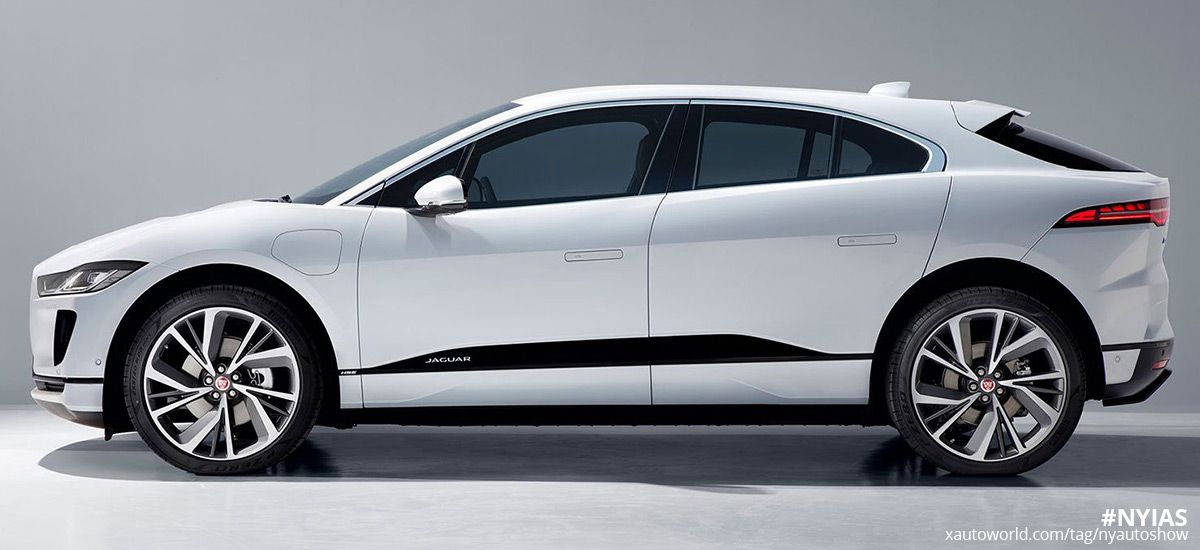 Jaguar I Pace Is Coming To New York Auto Show This 394 Hp Electric Beauty Is A Beast Inside Jaguar Pace Jaguar Unique Cars