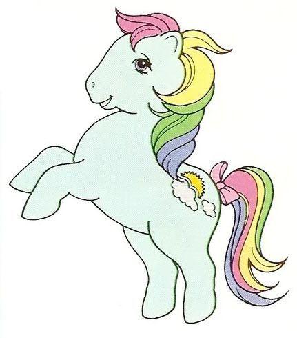 Rainbow Ponies Sunlight My Little Pony Coloring My Little Pony