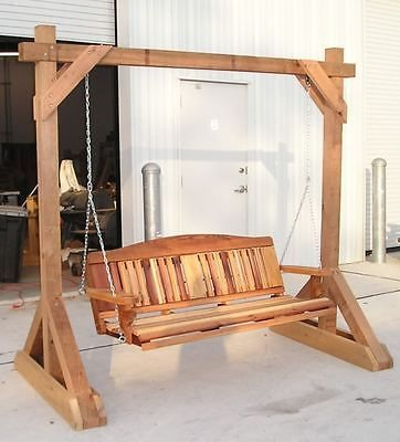 Woodworking Plans Free Standing Porch Swing Stand Perabot