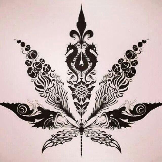 Marijuana Tattoos Designs Ideas And Meaning: Tattoos That I Love