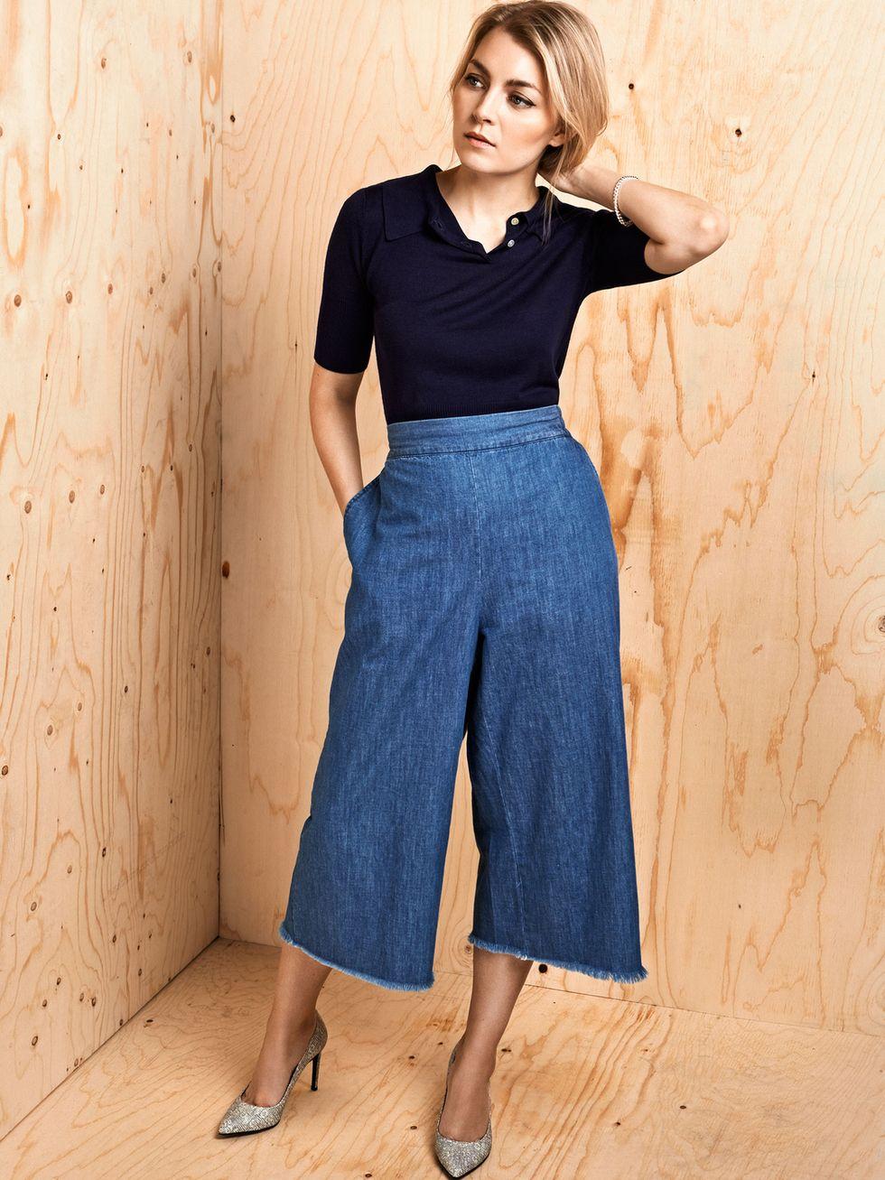 Kevään lempihousut: culottes   Trendi kesäkuu 2015, how to wear culottes - Pupulandia   Lily.fi