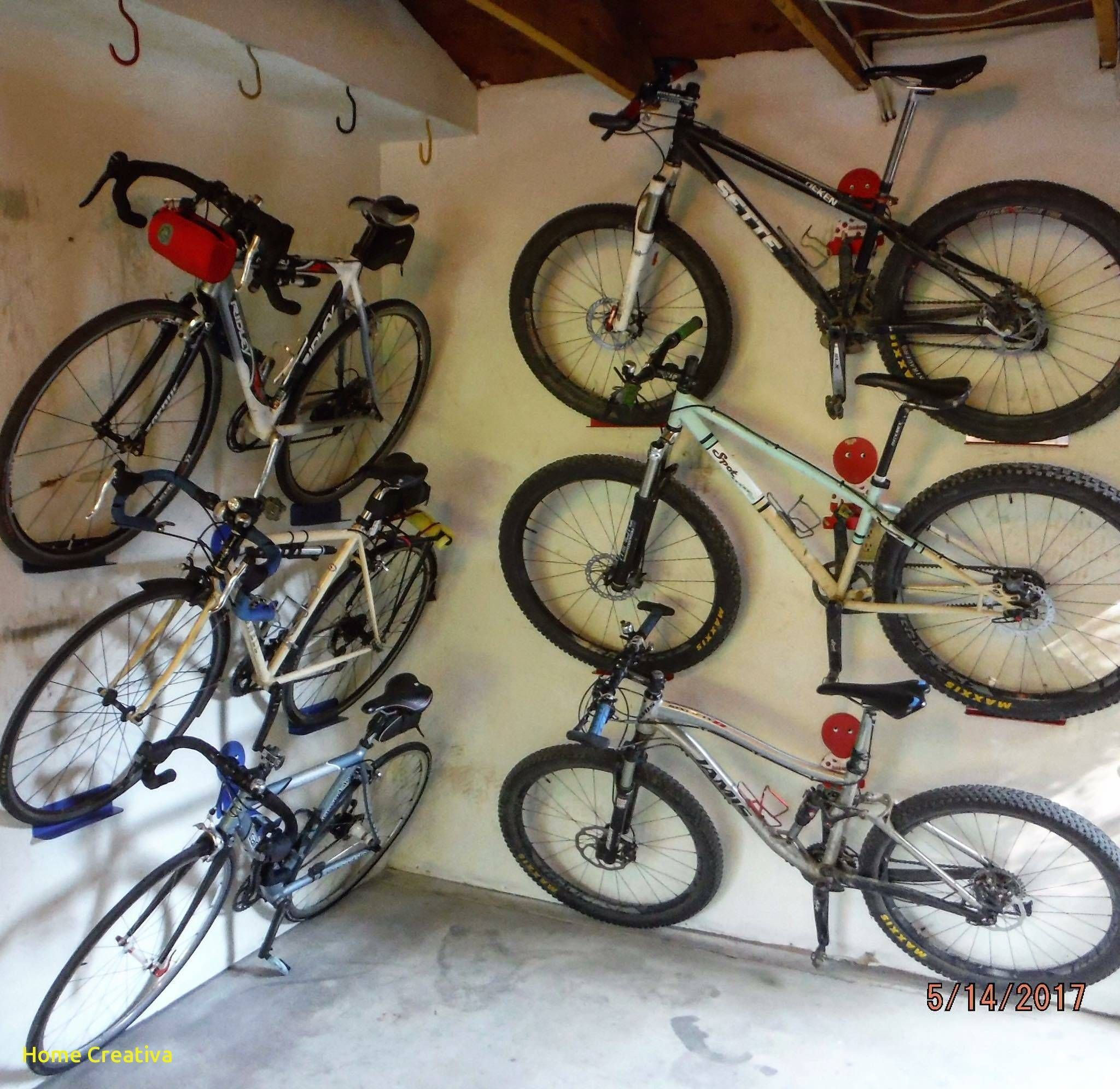 New Wall Mount Mountain Bike Rack Bike Storage Room Wall Mount