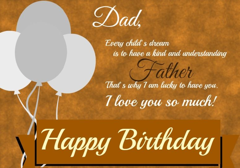 happy birthday quotes 727 All Quotes 2017 Pinterest Dad - birthday wish template