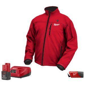 Milwaukee 2331 L M12 12 Volt Large Heated Jacket Set Heated Jacket Jackets Mens Work Jacket